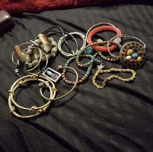10 bracelets/2 necklaces!